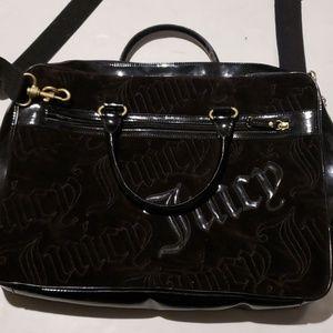 Juicy couture laptop messenger bag